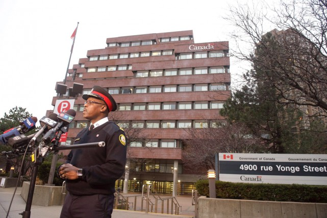 Le chef de la police Mark Saunders a... (PHOTO PC)