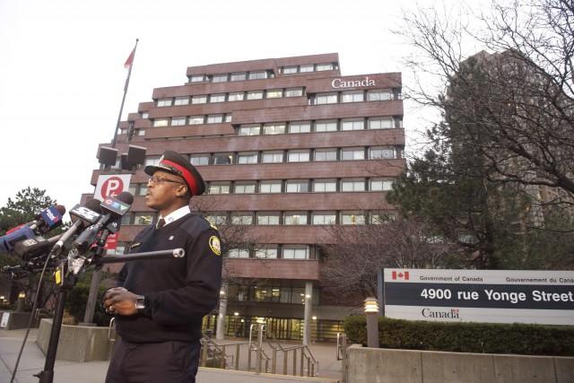 Le chef de la police de Toronto, Mark... (La Presse Canadienne, Victor Biro)