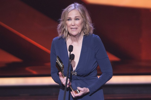 Catherine O'Hara a reçu le prix de la... (Photo PC, Peter Power)