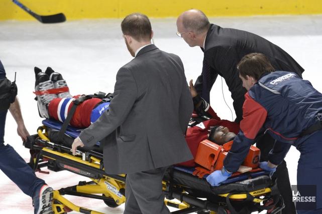 P.K. Subban ne quittera pas l'infirmerie du Canadien... (La Presse)