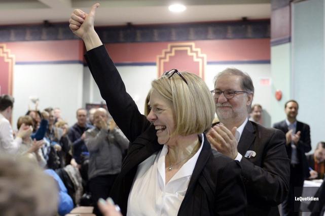 Mireille Jean a été élue candidate péquiste dans... (Photo Le Quotidien, Jeannot Lévesque)