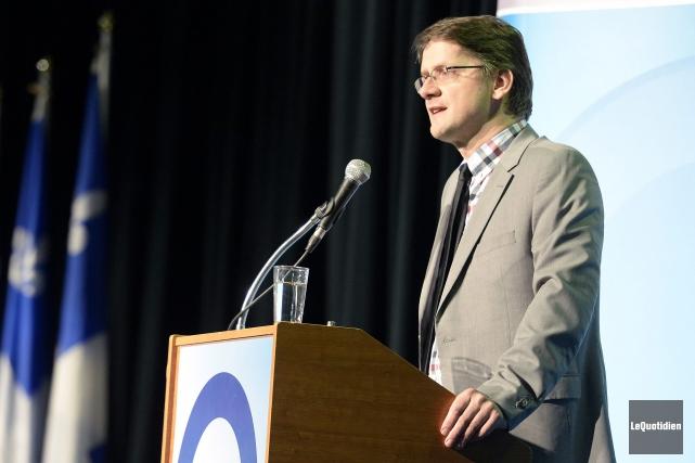Le député péquiste Sylvain Gaudreault... (Photo Le Quotidien, Jeannot Lévesque)