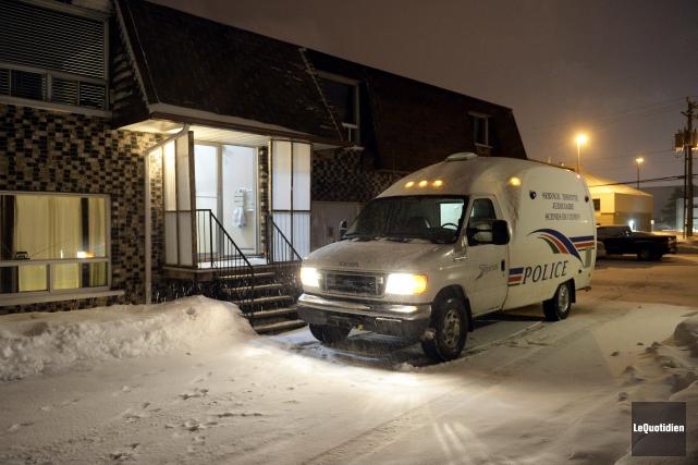 Les policiers de Saguenay ont été appelés à... (Photo Le Quotidien, Jeannot Lévesque)