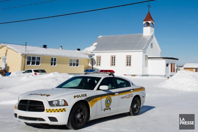 La Sûreté du Québec a pris la relève... (photo olivier jean, archives la presse)