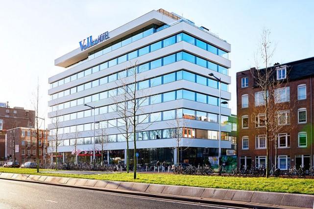 Le Volkshotel, à Amsterdam.... (PHOTO MARK GROENEVELD, FOURNIE PAR LE VOLKSHOTEL)