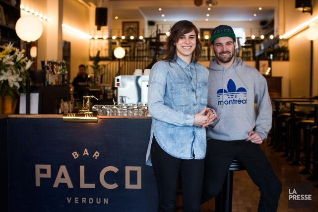 Isabelle Corriveau et Marc-Antoine Coulombe ont voulu proposer... (PHOTO OLIVIER PONTBRIAND, LA PRESSE)