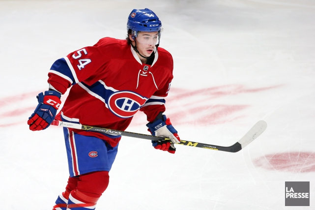 Le séjour de Charles Hudon à Montréal aura... (Photo Robert Skinner, La Presse)