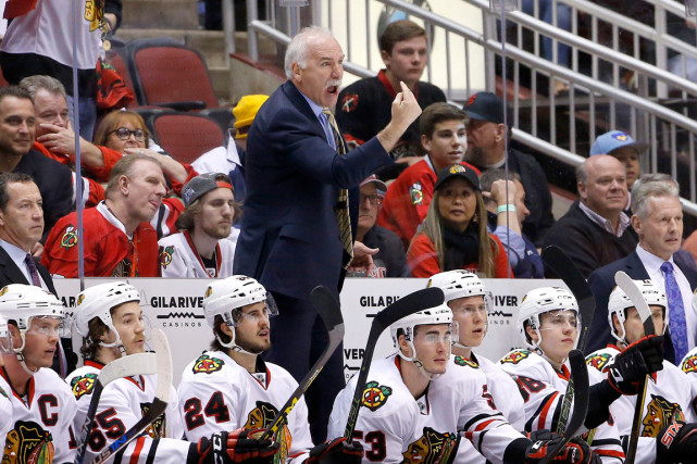 Les Blackhawks de Chicago ont perdu quatre de... (Photo Ross D. Franklin, AP)