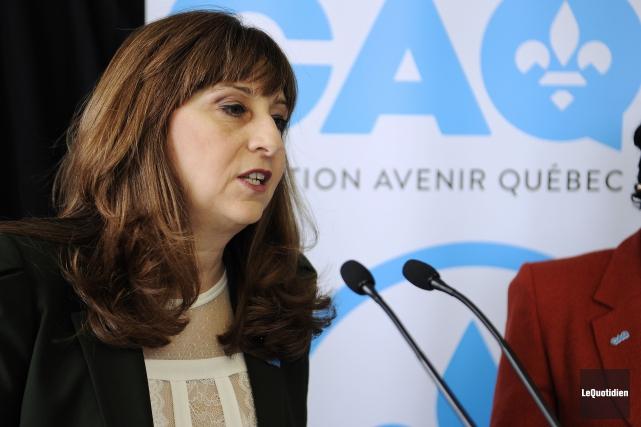 Selon Nathalie Roy, Philippe Couillard aurait déjà décidé... (Le Quotidien, Mariane L. St-Gelais)