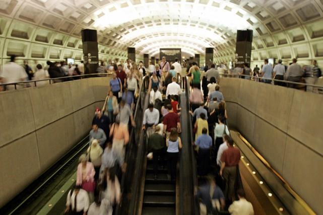 La fermeture du métro risque de provoquer une... (ARCHIVES AFP)