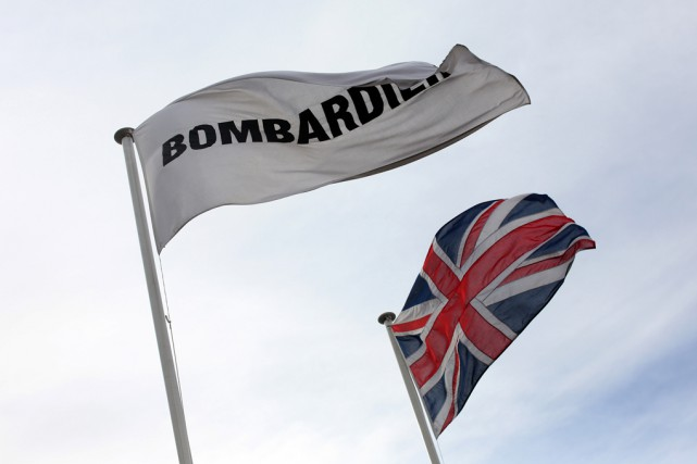 La réputation de la division ferroviaire de Bombardier... (Archives Bloomberg)