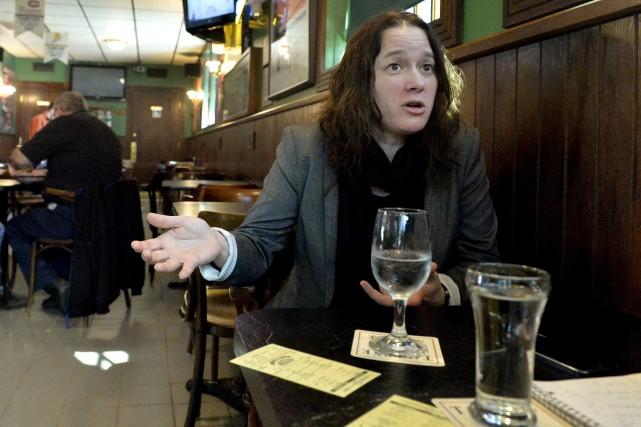 Karine Prémont, au sujet de Donald Trump: «Je... (Spectre Média, Maxime Picard)