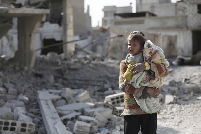 La Syrie, c'est un pays de plus de... (Associated Press)