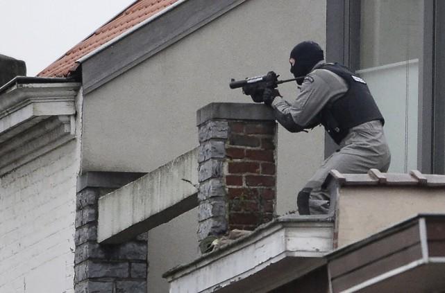 Un assaut a été donné contre la maison... (AFP, Dirk Waem)