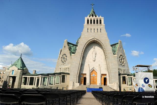 Le Sanctuaire Notre-Dame-du-Cap.... (Archives, Le Nouvelliste)