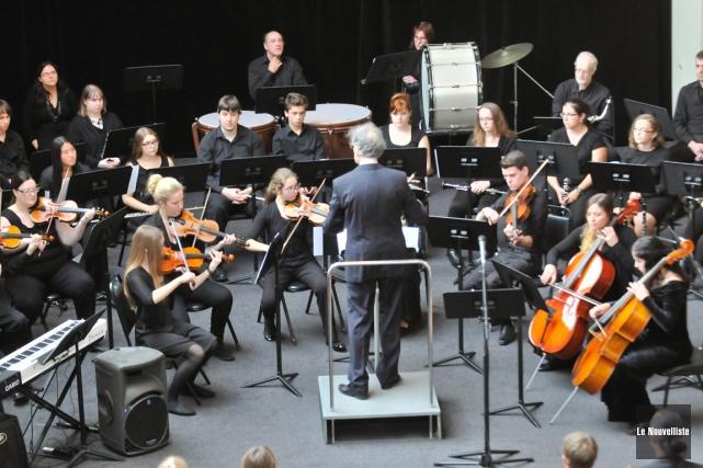 L'Orchestre symphonique de jeunes Philippe-Filion.... (Archives, Le Nouvelliste)