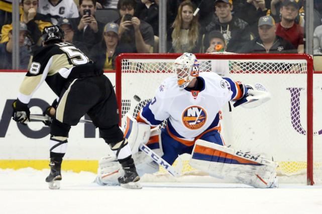 Kristopher Letang a été le seul à marquer en fusillade et les Penguins de... (PHOTO REUTERS)