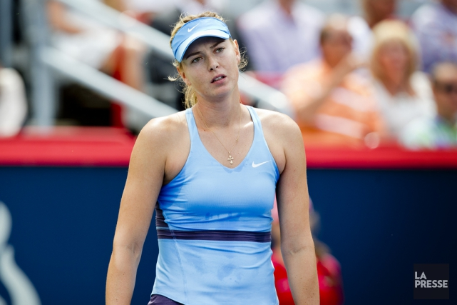 Maria Sharapova est suspendue à titre provisoire après... (Archives La Presse)
