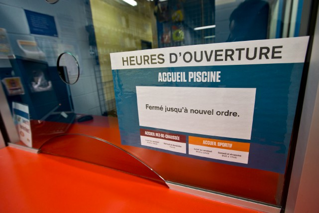 À l'origine, les travaux de réfection de la... (Photo Patrick Sanfaçon, La Presse)