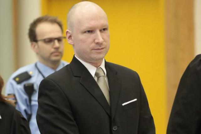 Anders Behring Breivik... (Archives AFP, Lise Aserud)