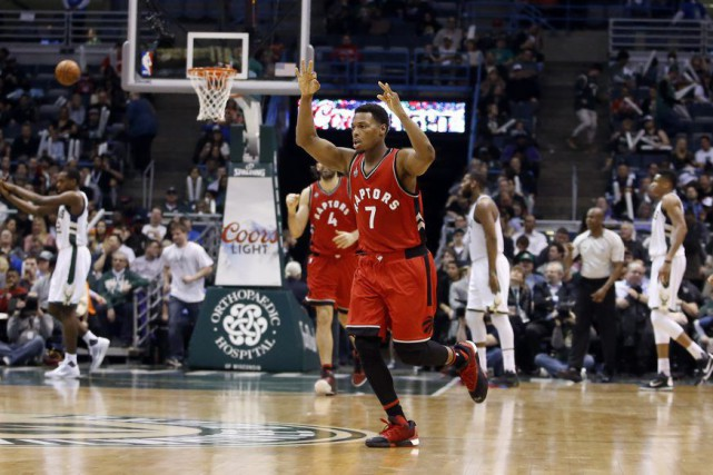 Kyle Lowry (7)... (Photo Morry Gash, Associated Press)
