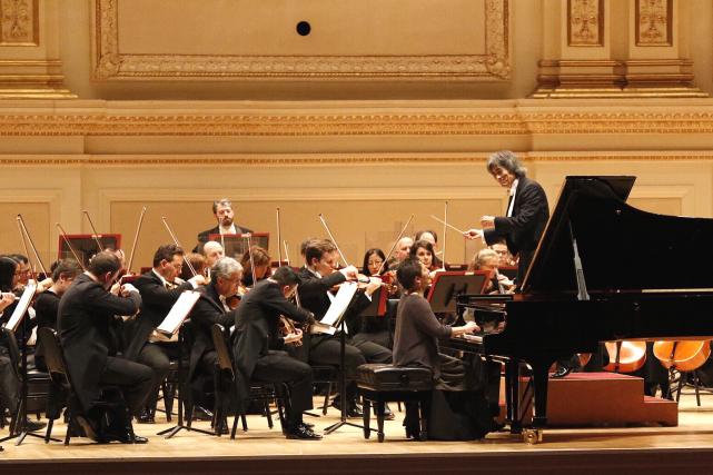 Les musiciens de l'Orchestre symphonique de Montréal (OSM)... (PHOTO FANY DUCHARME, FOURNIE PAR L'ORCHESTRE SYMPHONIQUE DE MONTRÉAL)