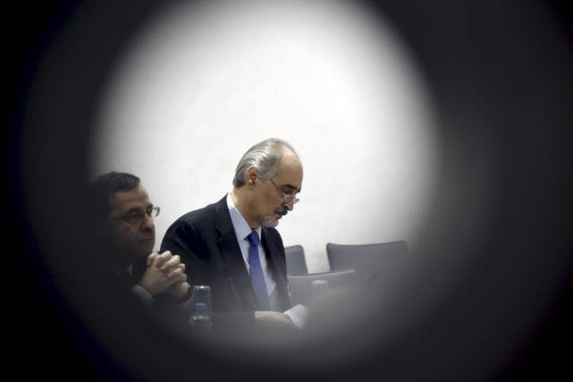 L'envoyé spécial de l'ONU pour la Syrie, Staffan... (Photo PHILIPPE DESMAZES, AFP)