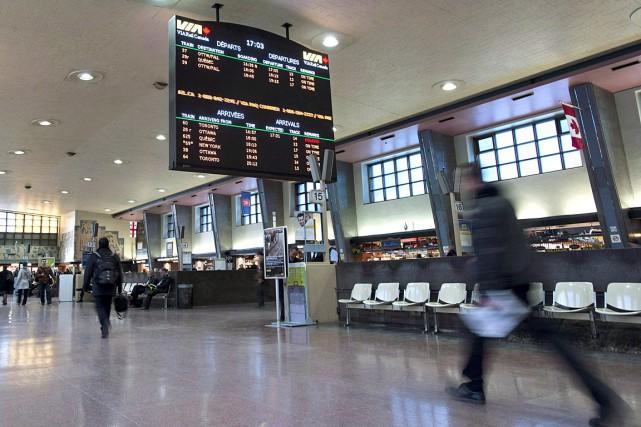 La gare centrale de Montréal.... (Photo Graham Hughes, PC)