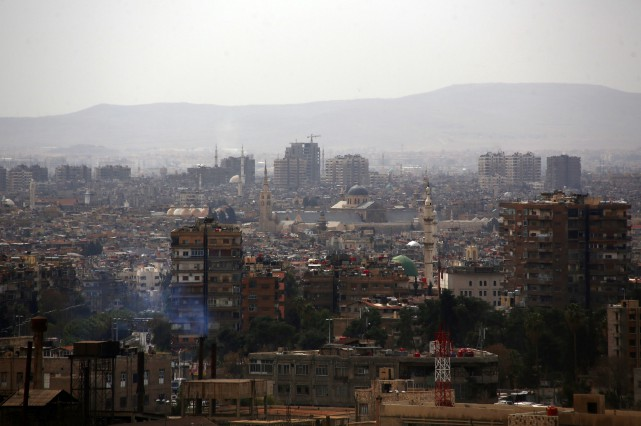 Le bilan actuel de la guerre en Syrie... (PHOTO ABD DOUMANY, AGENCE FRANCE-PRESSE)