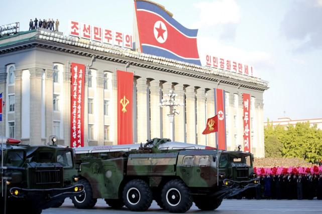 Le dirigeant nord-coréen Kim Jong-un a donné l'ordre... (ARCHIVES AP)