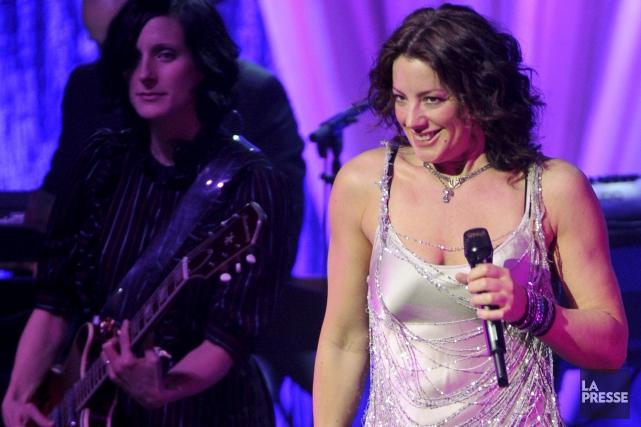 Sarah McLachlan sera de passage auprochain Festival de... (Archives, La Presse)