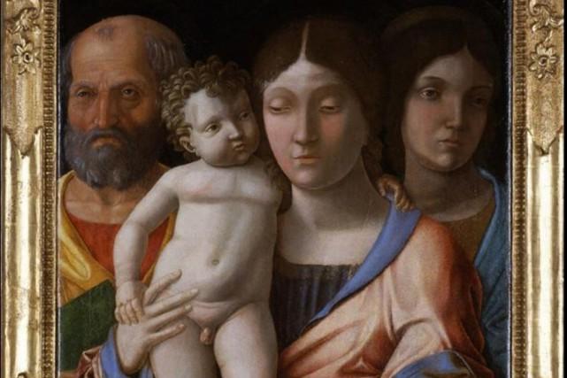 Cette toile d'Andrea Mantegna a été dérobée le... (fournie par le musée du Castelvecchio)