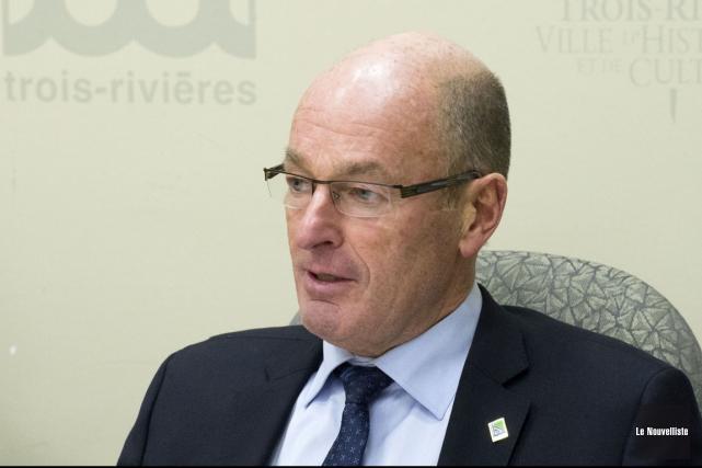 Yves Lévesque... (Stéphane Lessard, Le Nouvelliste)