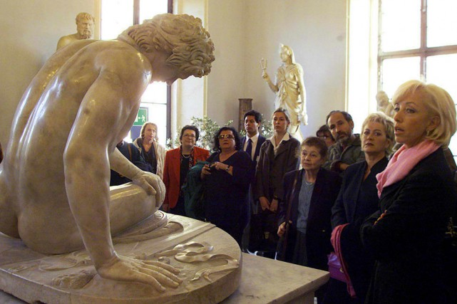 La collection Torlonia compte 620 sculptures et statues... (archives European Pressphoto Agency)