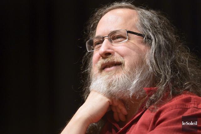 RichardStallman, créateur du système d'exploitation GNU et fondateur... (Le Soleil, Yan Doublet)