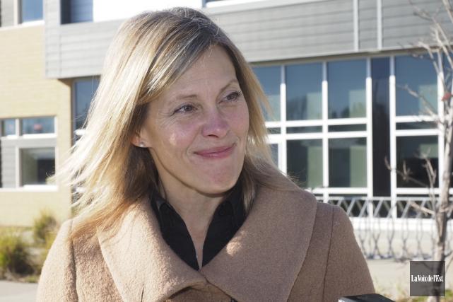 Suzanne Surette prendra la gouverne de la Fondation... (archives La Voix de l'Est)