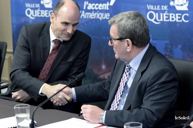 Le ministre fédéral de la Famille et député... (Le Soleil, Jean-Marie Villeneuve)