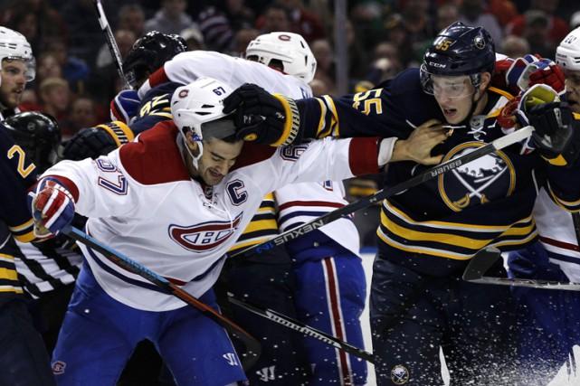 Relisez le clavardage du match entre le Canadien est les Sabres de Buffalo avec... (PHOTO REUTERS)