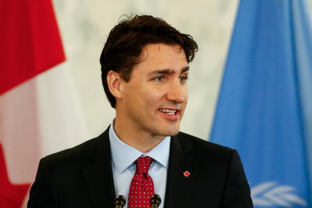 Le premier ministre Justin Trudeau en a fait... (AFP, KENA BETANCUR)