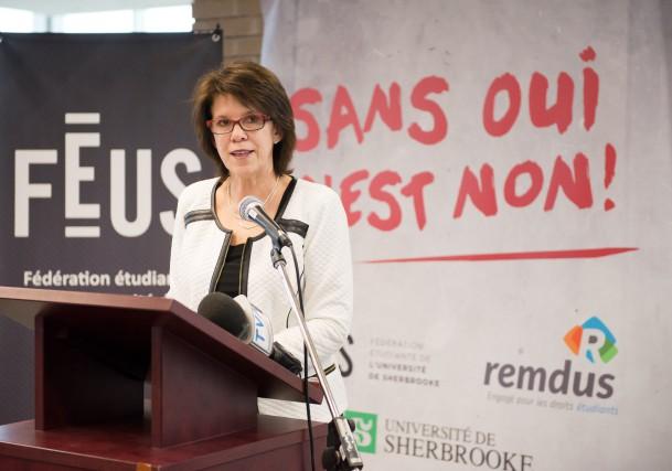 Après un lancement à Montréal, l'UdeS a donné... (Spectre Média, Jessica Garneau)
