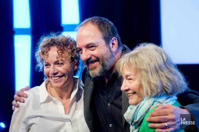 Macha Limonchik, Denis Bernard et Micheline Lanctôt seront... (La Presse, Marco Campanozzi)