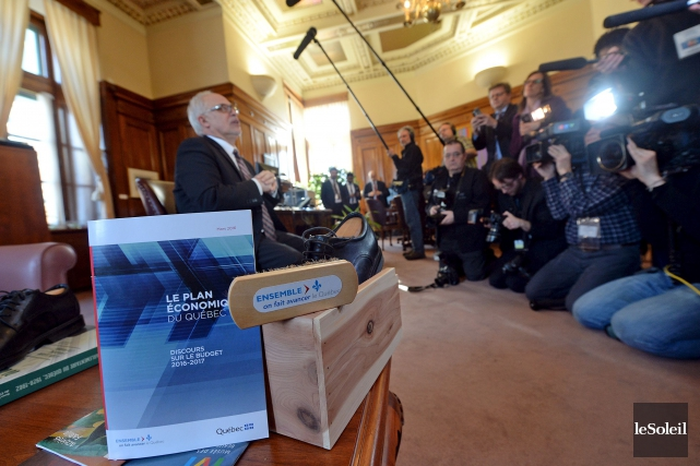 À la veille du dépôt du budget provincial,... (Le Soleil, Erick Labbé)