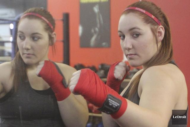 La boxeuse de Plaisance, Vanessa Lepage-Joanisse... (Etienne Ranger, LeDroit)