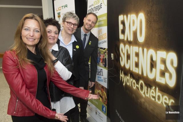 Les détails concernant la finale régionale de l'Expo-sciences... (Stéphane Lessard, Le Nouvelliste)