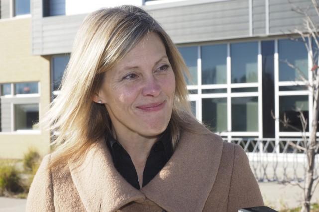 Suzanne Surette prendra la gouverne de la Fondation... (Photo archives La Voix de l'Est)