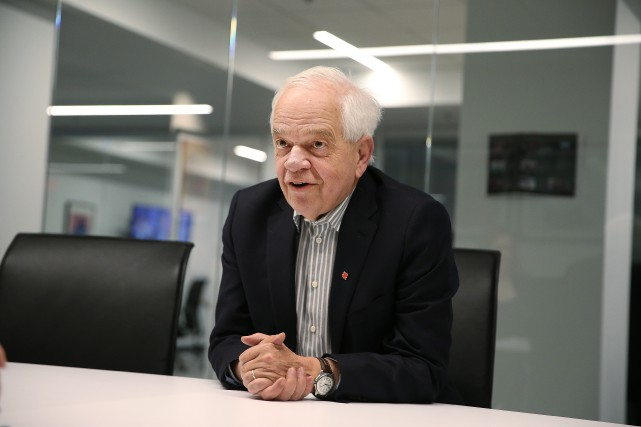Le ministre canadien de l'Immigration, John McCallum.... (PHOTO Martin Chamberland, LA PRESSE)