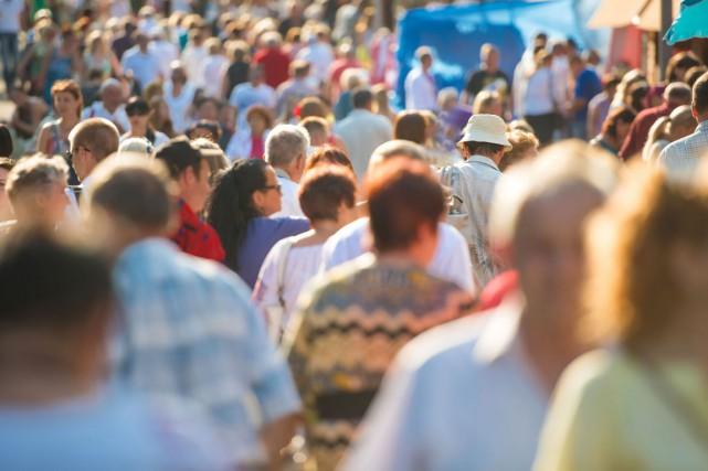 Statistique Canada affirme que la population du pays... (123RF)