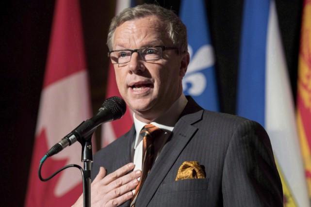 Le premier ministre de la Saskatchewan, Brad Wall... (archives La Presse Canadienne)