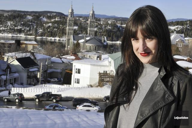 Anne-Élisabeth Bossé est la porte-parole de la 20e... (Photo Le Quotidien, Rocket Lavoie)