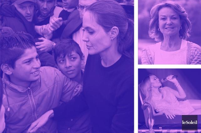 Angelina Jolie en Grèce pour les migrants (Infographie Le Soleil)